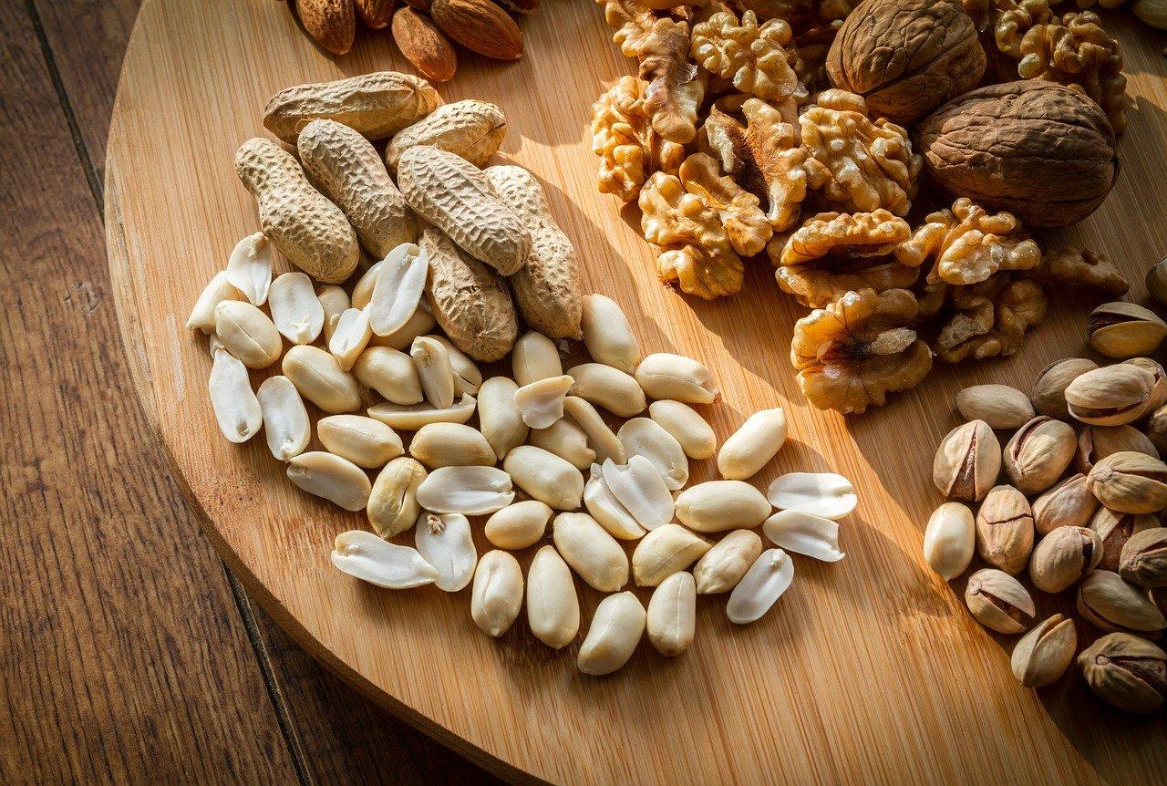 Erdnuss, geröstet Essen und Trinken Nüsse, Samen und Ölfrüchte