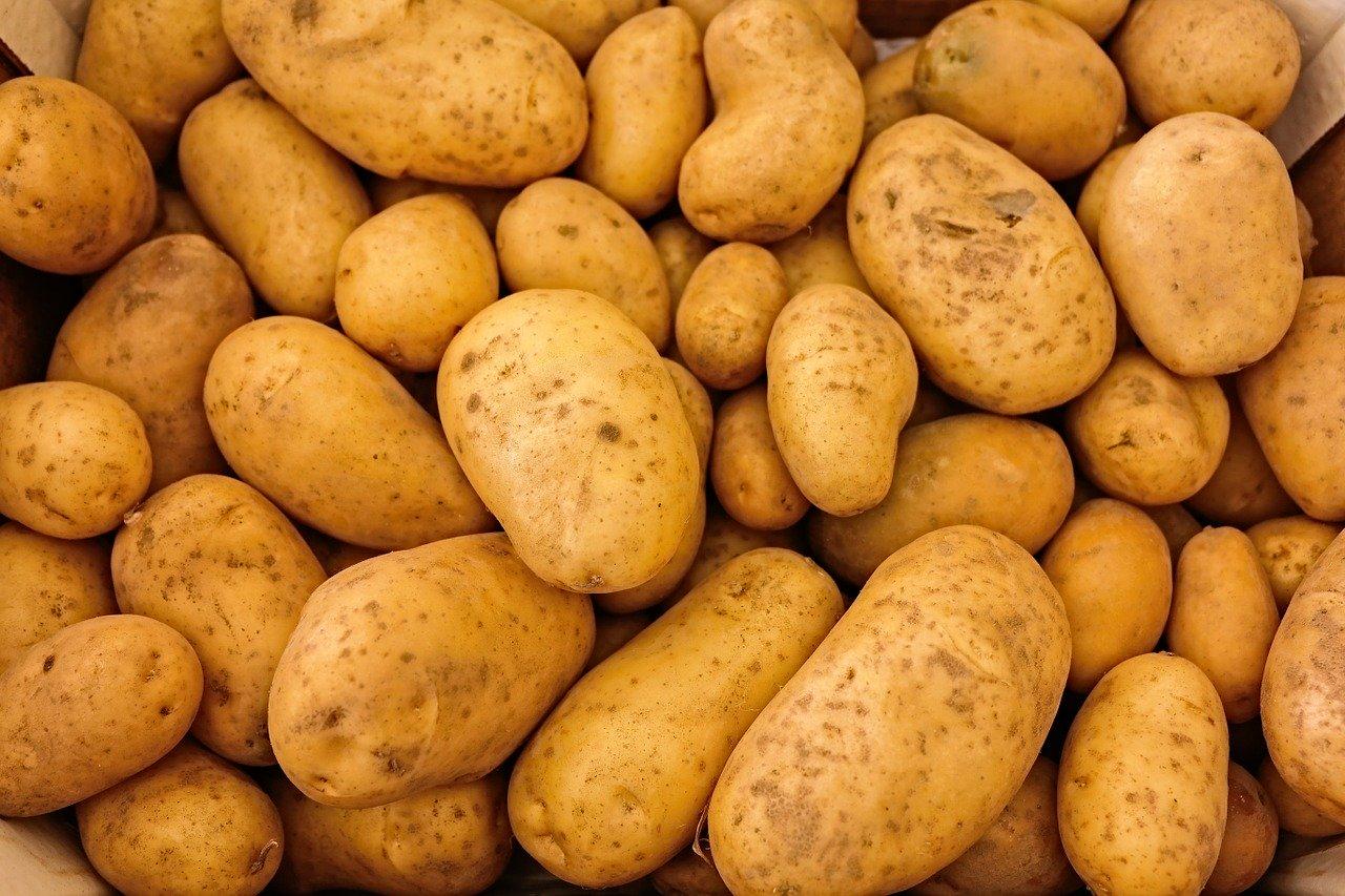 Kartoffelflocken, mit Milchpulver und Salz (Instant-Kartoffelstock) Essen und Trinken Getreideprodukte, Hülsenfrüchte und Kartoffeln