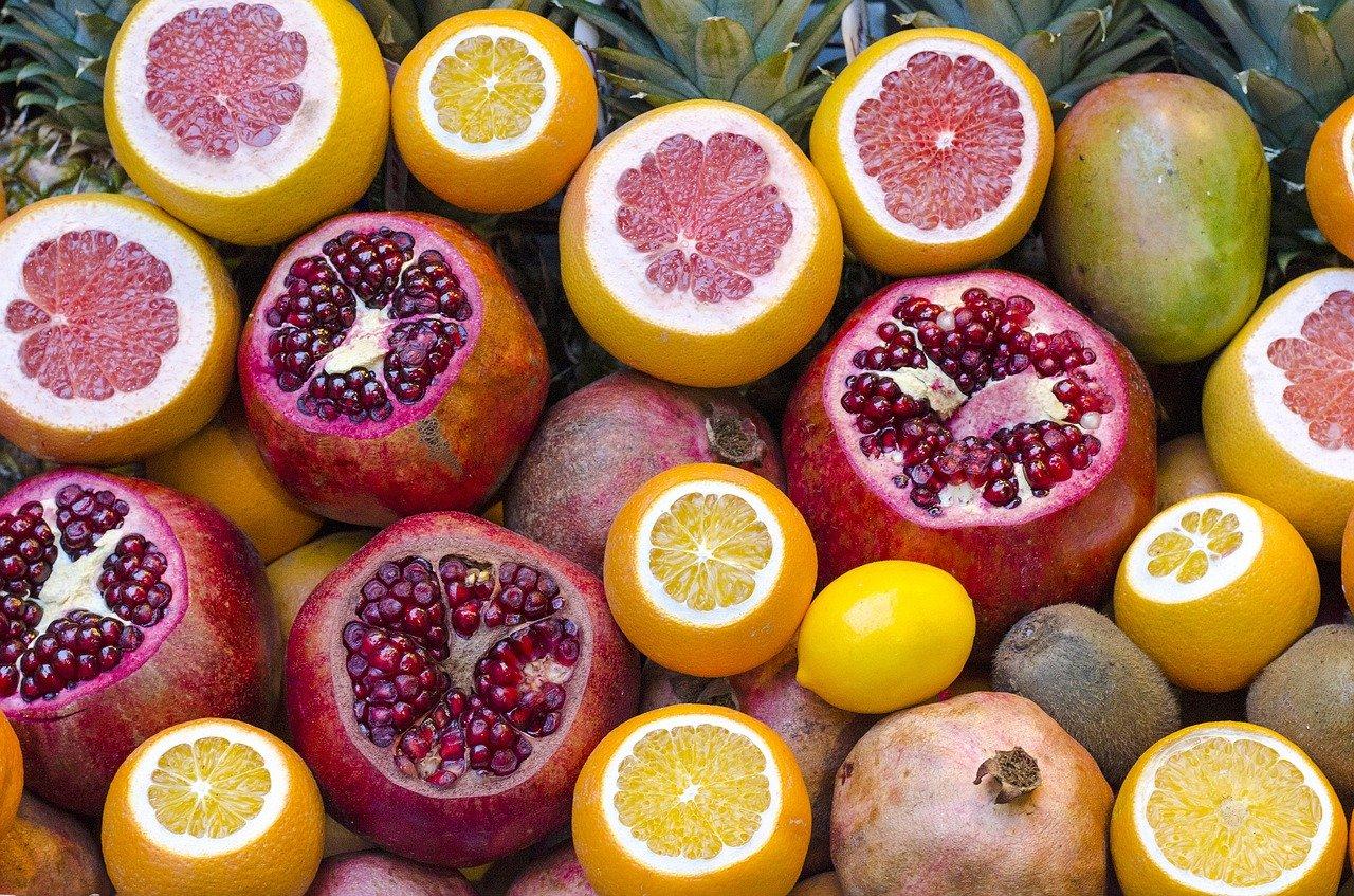 Sorbet, Frucht Essen und Trinken Süßigkeiten
