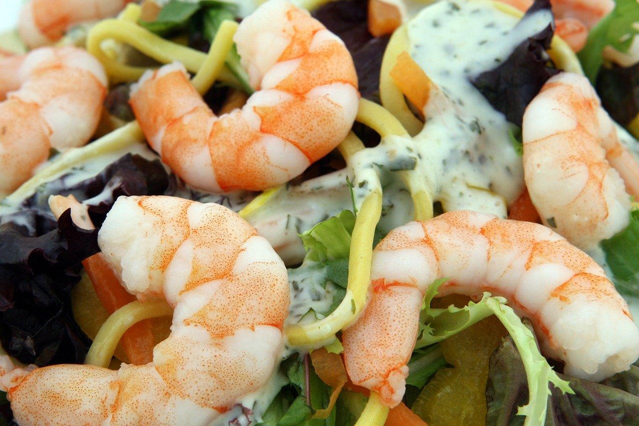 Garnele Essen und Trinken Fischgerichte