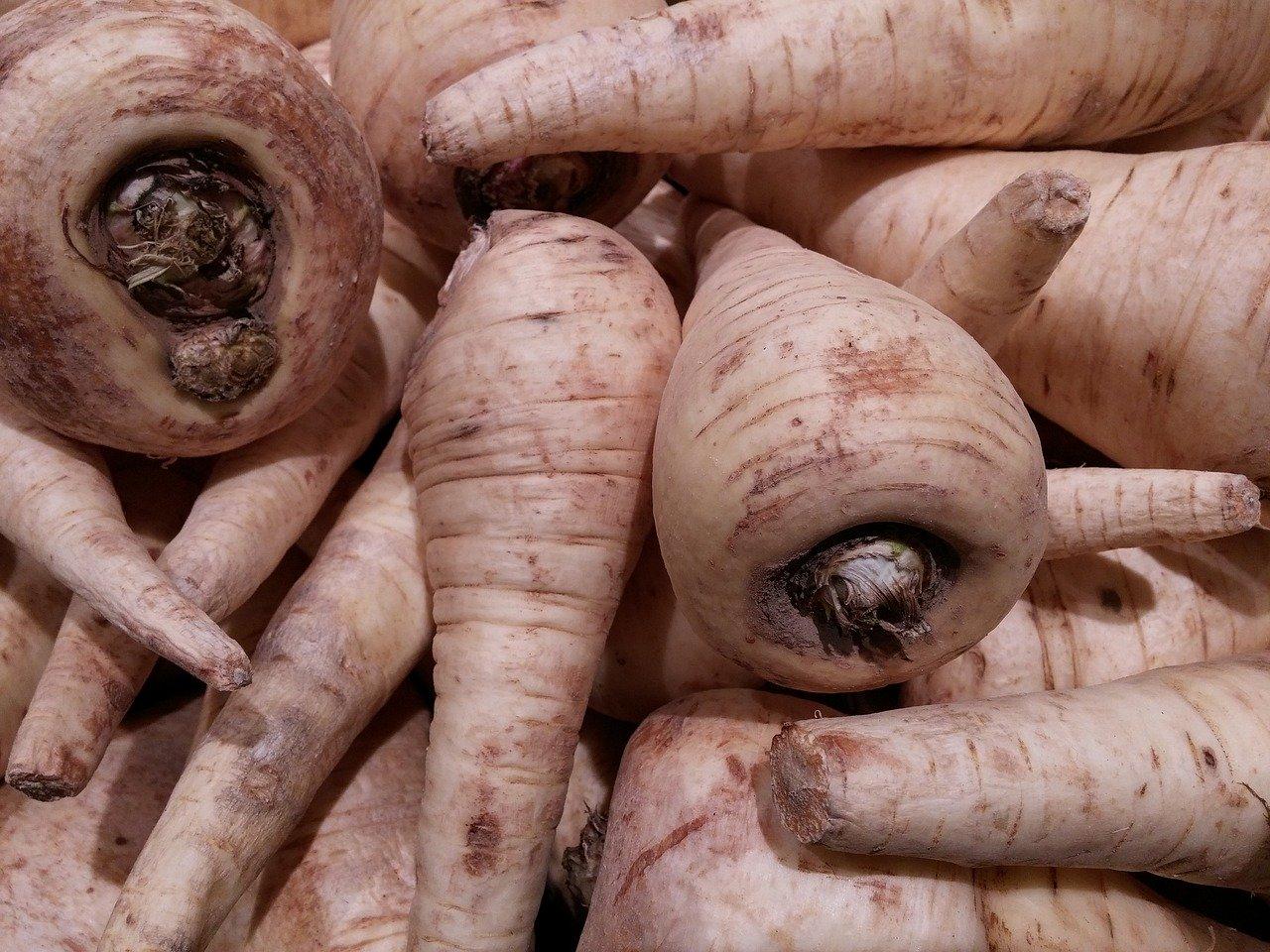 Wurzel- und Knollengemüse (Durchschnitt), gekocht (ohne Zugabe von Fett und Salz) Essen und Trinken Gemüsesorten