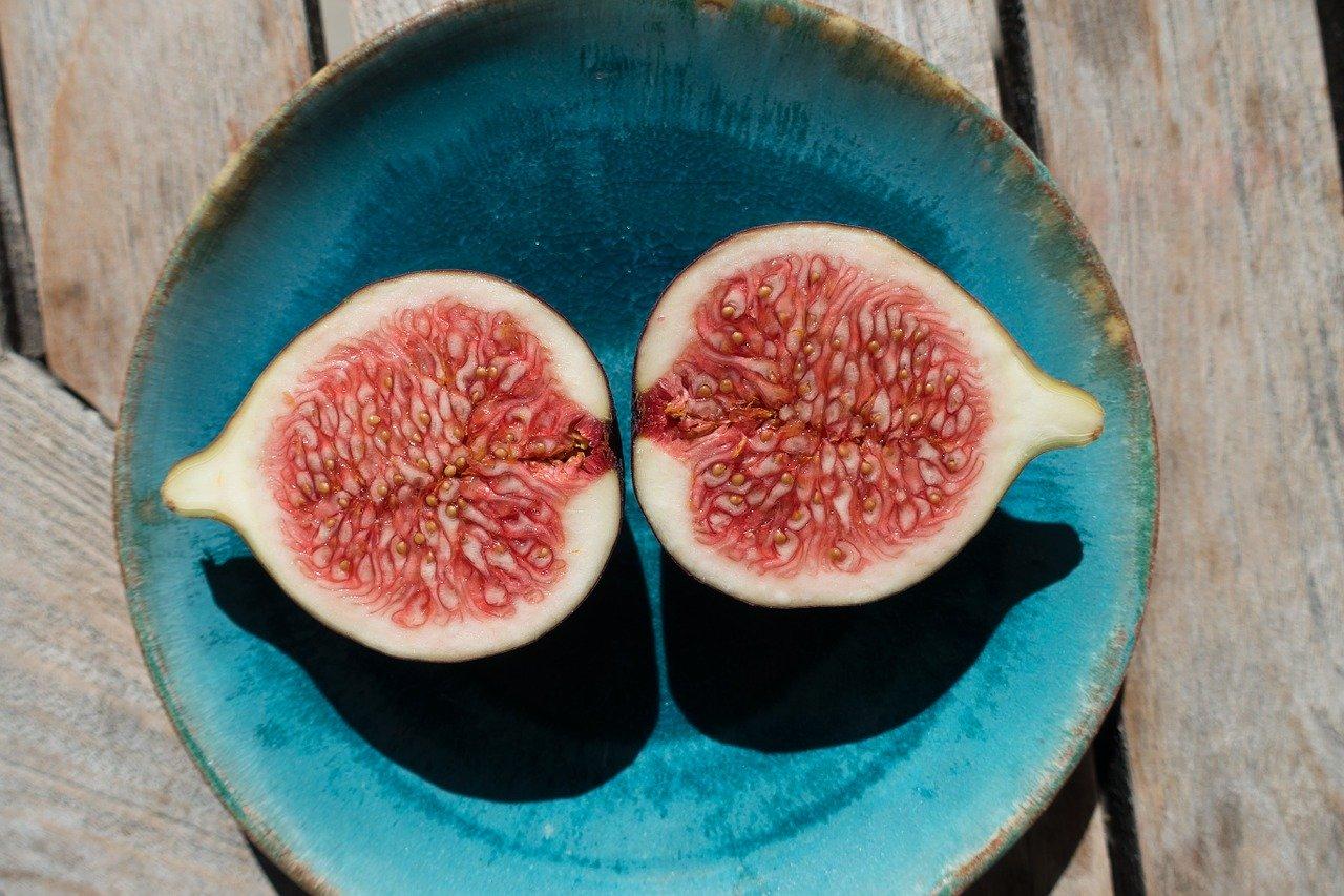 Feige Essen und Trinken Früchte