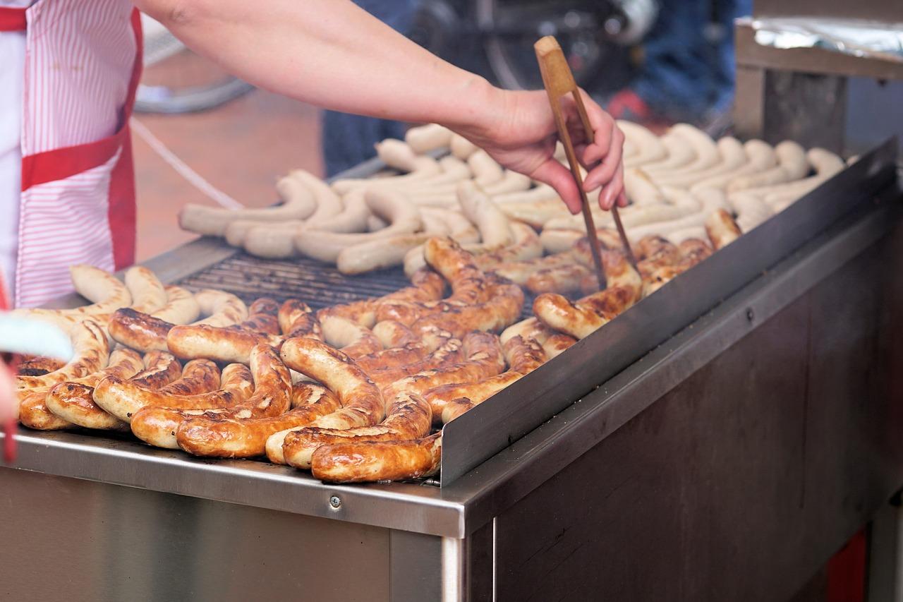 Bauernbratwurst Essen und Trinken Fleisch- und Wurstwaren