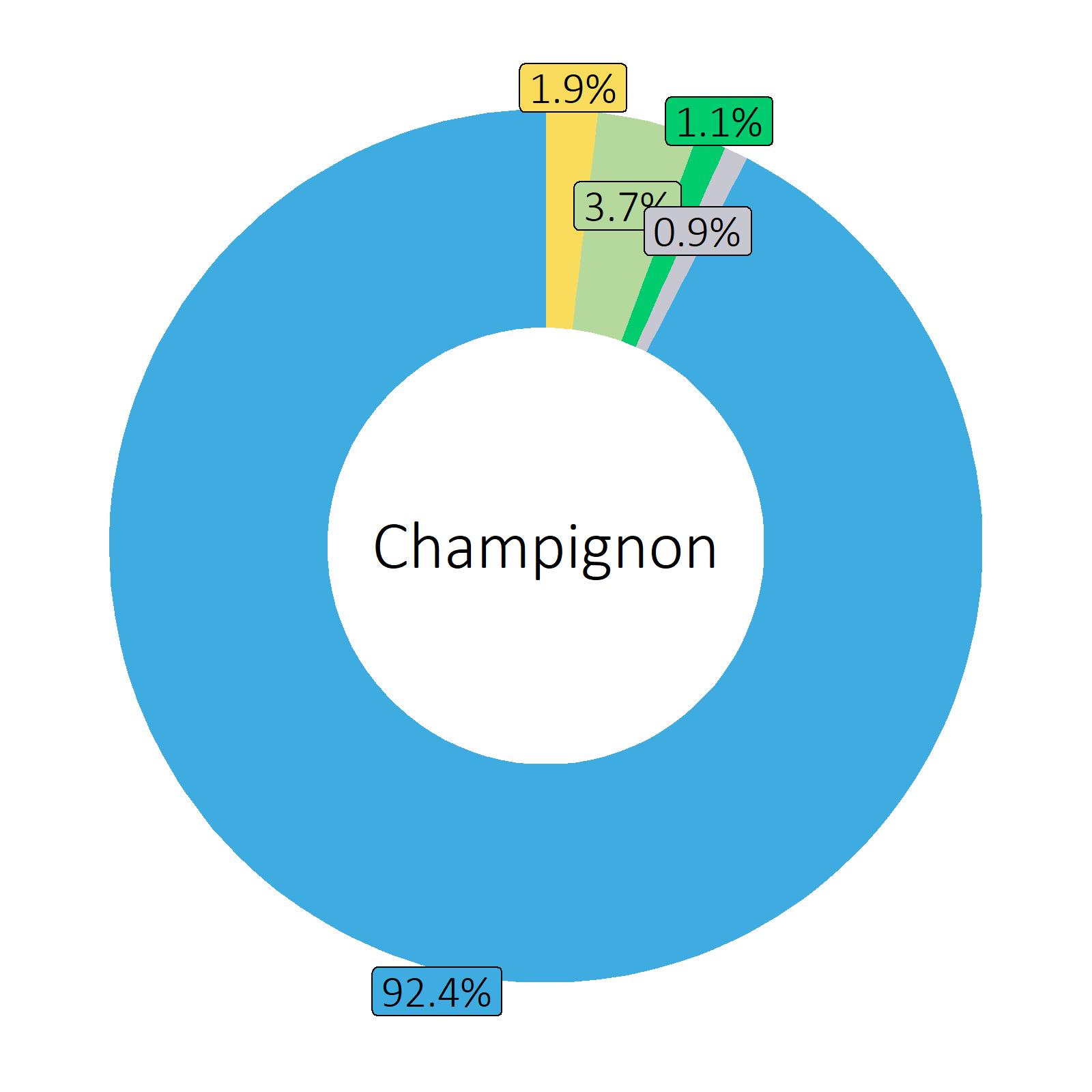 Bestandteile Champignon