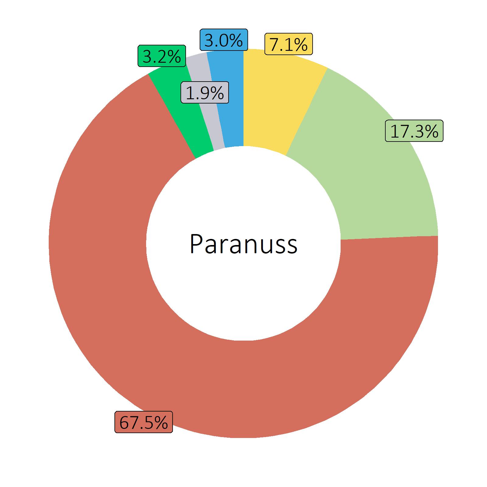 Bestandteile Paranuss