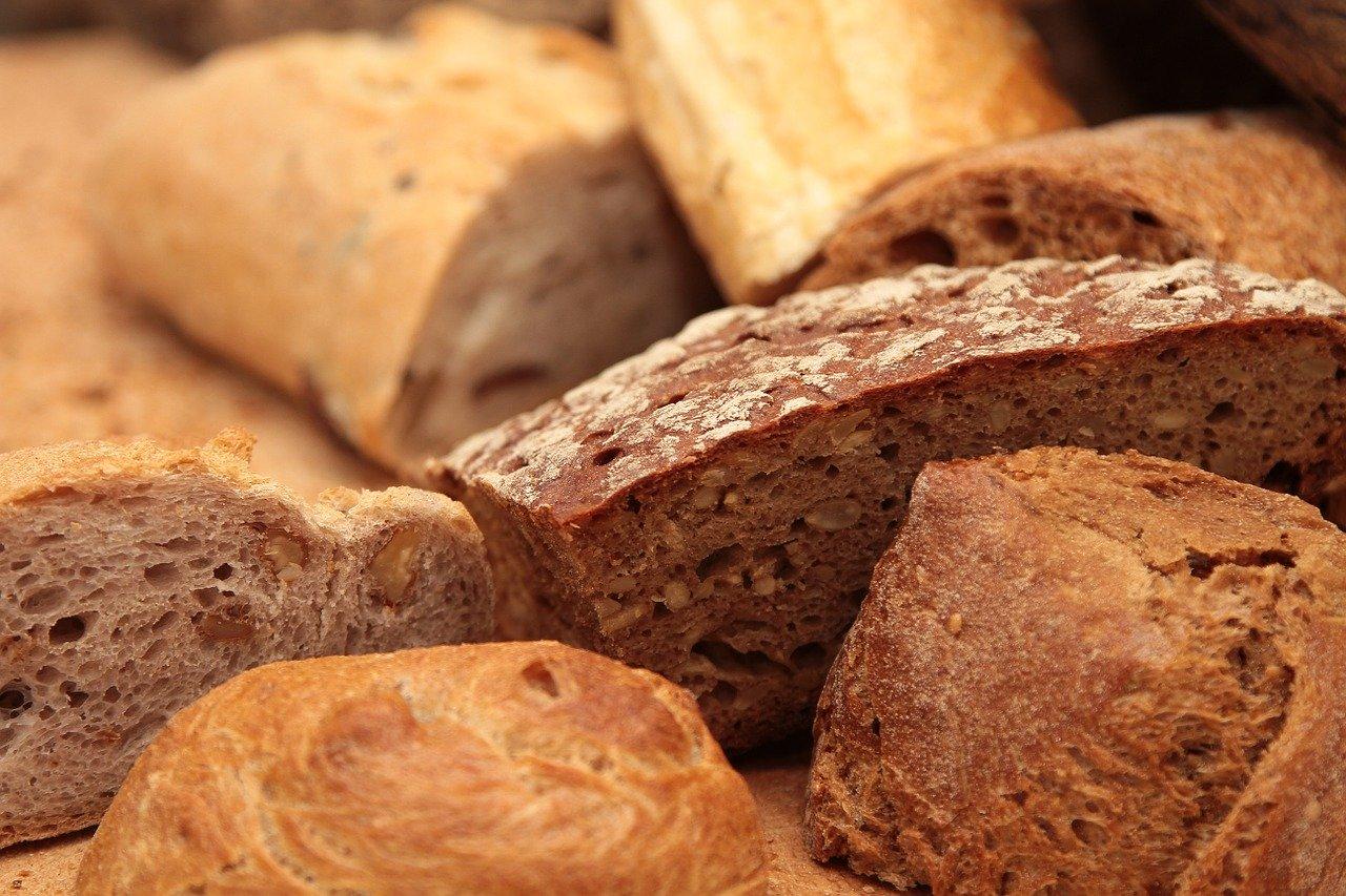 Teigwaren ohne Ei, Vollkorn, trocken Essen und Trinken Getreideprodukte, Hülsenfrüchte und Kartoffeln